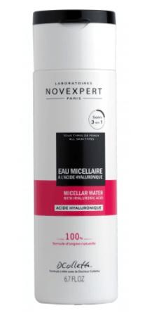 Água Micelar com Ácido Hialurônico Novexpert