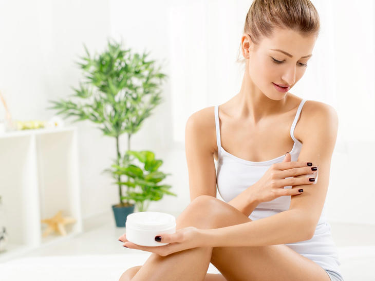 produtos de farmácia para a pele: cuidados com o corpo