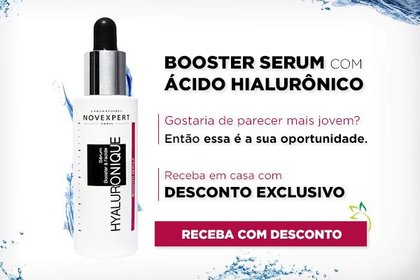 booster serum com ácido hialurônico novexpert
